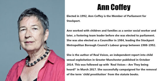 Ann Coffey Independent MP