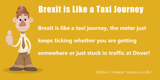 Brexit is Like a Taxi Journey Joke