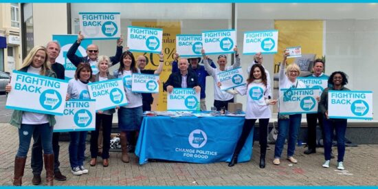Brexit Party Campaigning Across the Nation for a Better Politics