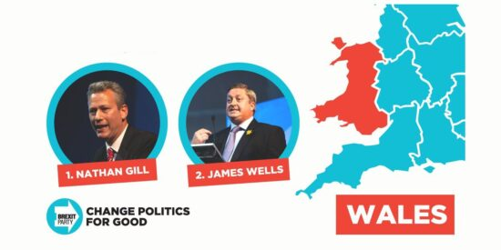 Brexit Party Welsh MEPs