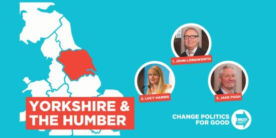 Brexit Party Yorkshire & The Humber MEPs