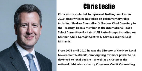 Chris Leslie Independent MP