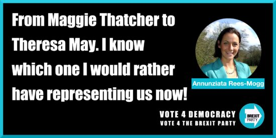From Maggie Thatcher to Theresa May