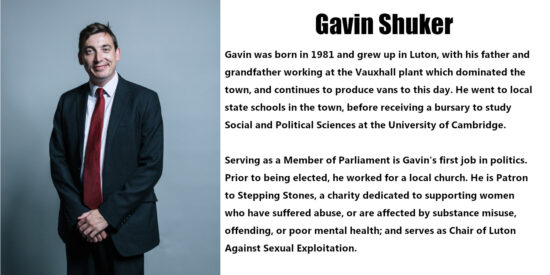 Gavin Shuker Independent MP