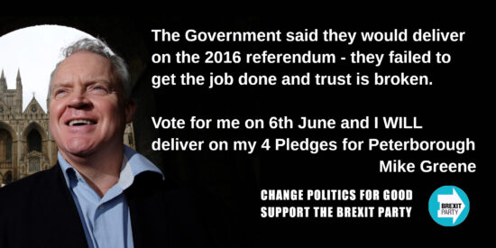 The Government Said They Would Deliver on the 2016 Referendum - Mike Greene