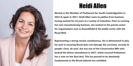 Heidi Allen Independent MP