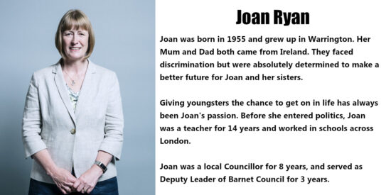 Joan Ryan Independent MP