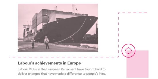 Labour Manifesto: Labour's Achievements in Europe