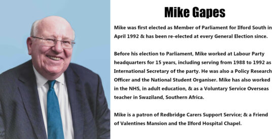 Mike Gapes Independent MP
