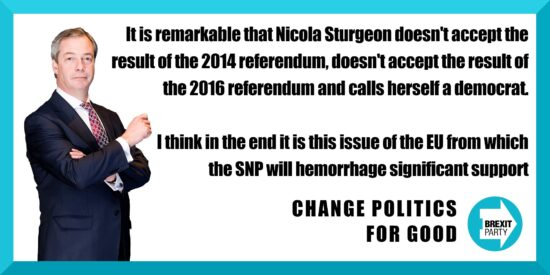 Nicola Sturgeon Doesn't Accept the Result of the 2014 or 2016 Referendums