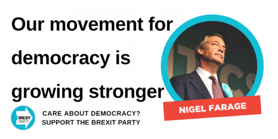 Our Movement for Democracy is Growing Stronger - Nigel Farage