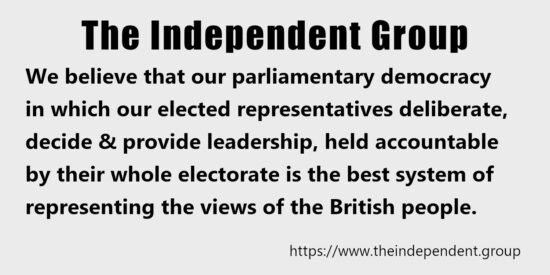 Our Parliamentary Democracy is the Best System of Representing the British People