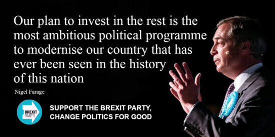 Our Plan to Invest in the Rest - Nigel Farage