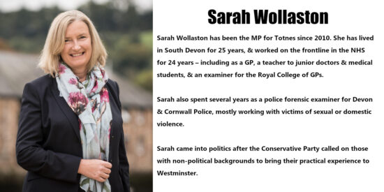 Sarah Wollaston Independent MP