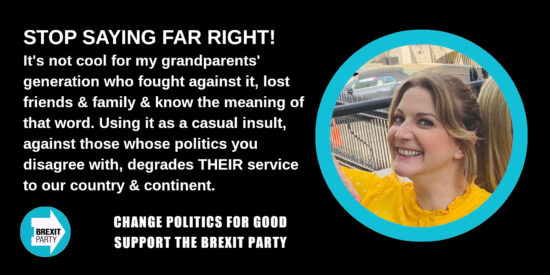 Stop Saying Far Right! - Alexandra Phillips MEP