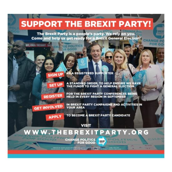 Support The Brexit Party