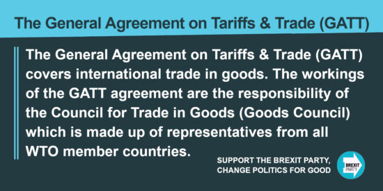 The General Agreement on Tariffs & Trade (GATT)