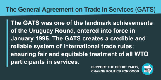 The General Agreement on Trade in Services (GATS)