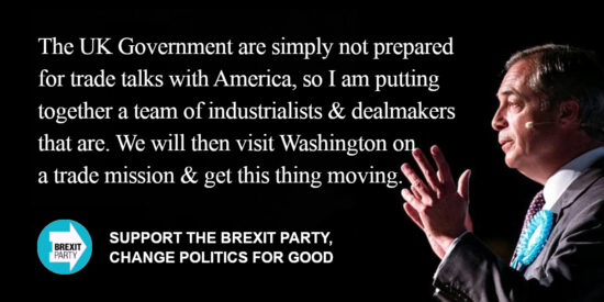 The UK Government are Simply not Prepared for Trade Talks with America - Nigel Farage