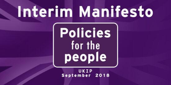 UKIP Interim Manifesto