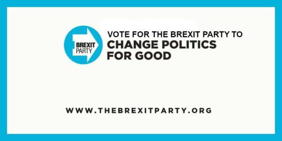 Vote for The Brexit Party to Save Democracy