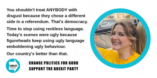 You Shouldn't Treat ANYBODY with Disgust Because They Chose a Different Side in a Referendum - Alexandra Phillips MEP