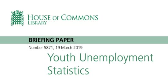 Youth Unemployment Statistics March 2019 Briefing Paper